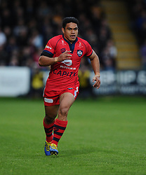 Bristol Rugby Winger David Lemi  - Photo mandatory by-line: Joe Meredith/JMP - Mobile: 07966 386802 - 27/05/2015 - SPORT - Rugby - Worcester - Sixways Stadium - Worcester Warriors v Bristol Rugby - Greene King IPA Championship