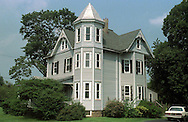 A view of the old Victorian house that sits on the Attleboro Retirement Village property in Langhorne, Pa. Borough Officials are hoping that the house can be moved somewhere to make room for the expansion of the retirement village. If a buyer isn't found for the home, it could be torn down. 1of1