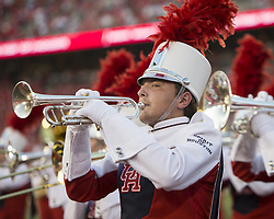 September 16, 2017 - Houston, TX, USA - The Houston Cougars band performs before the start of the  college football game between the Houston Cougars and the Rice Owls at TDECU Stadium in Houston, Texas. (Credit Image: © Scott W. Coleman via ZUMA Wire)