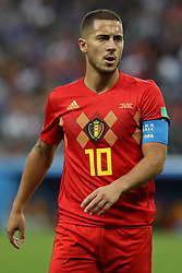 July 10, 2018 - SãO Petersburgo, Rússia - SÃO PETERSBURGO, MO - 10.07.2018: FRANÇA X BÉLGICA - Eden Hazard during the match between France and Belgium valid for the semifinal of the 2018 World Cup, held at the Krestovsky Stadium (Zenit Arena) in St. Petersburg, Russia. (Credit Image: © Ricardo Moreira/Fotoarena via ZUMA Press)