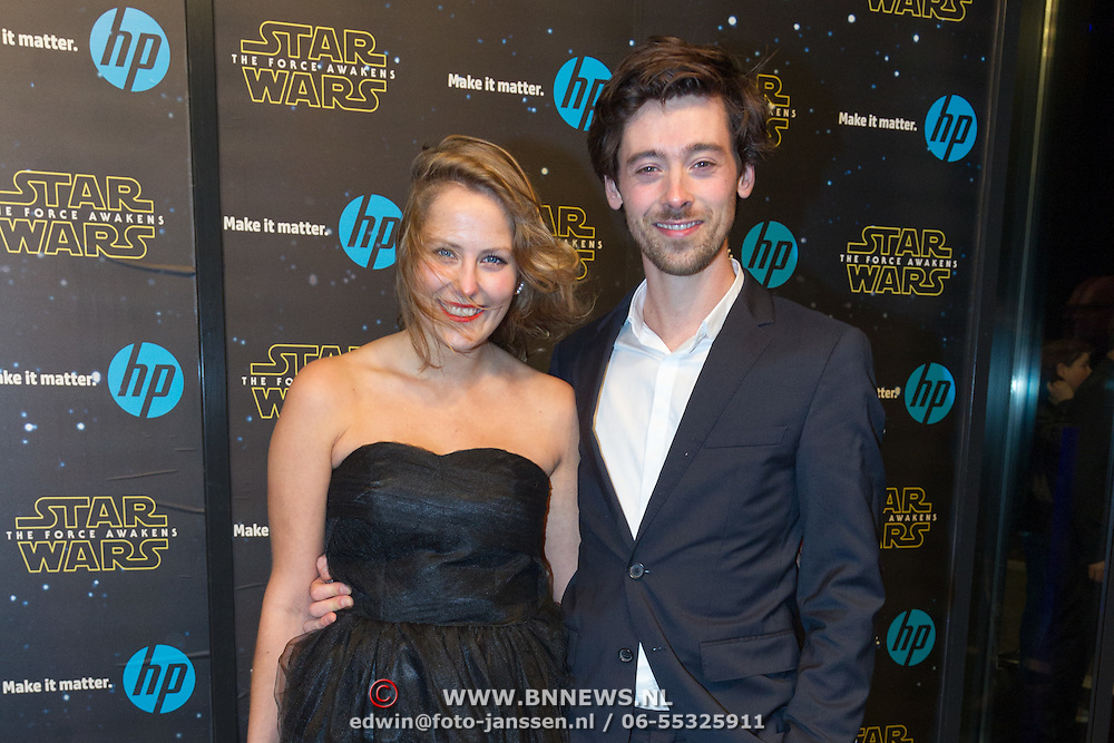 NLD/Amsterdam/20151215 - première van STAR WARS: The Force Awakens!, Willem Voogd en partner ......