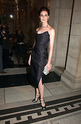 ERIN O'CONNOR at the British Fashion Awards 2006 sponsored by Swarovski held at the V&A Museum, Cromwell Road, London SW7 on 2nd November 2006.<br />
