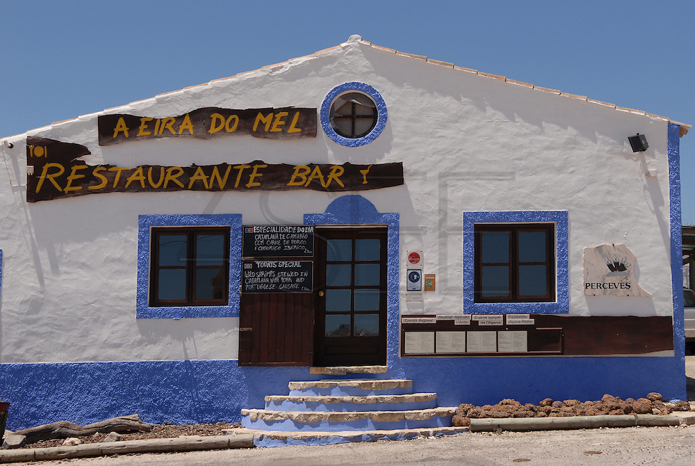 A Eira do Mel is a restaurant at Vila do Bispo. Vila do Bispo, Algarve is a small village near the coast, at the most south westerly corner of Portugal.