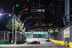 September 14, 2018 - Singapore, Singapore - Motorsports: FIA Formula One World Championship 2018, Grand Prix of Singapore, .#3 Daniel Ricciardo (AUS, Aston Martin Red Bull Racing) (Credit Image: © Hoch Zwei via ZUMA Wire)