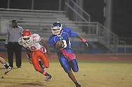 Oxford Middle School vs. Grenada in 8th grade football action in Oxford, Miss. on Tuesday, October 16, 2012.