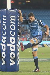 Bulls player Flip van der Merwe.05 March 2011, Blue Bulls v Highlanders, Vodacom Super 15, Loftus Stadium, Pretoria,South Africa,.photo by Abbey Sebetha, Eagency