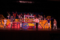 Willy Wonka dress rehearsal for Gilford Middle School.  Karen Bobotas for the Laconia Daily Sun