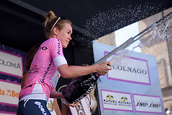 Anna van der Breggen extends her lead in the general classification after Stage 5 of the Giro Rosa - a 12.7 km individual time trial, starting and finishing in Sant'Elpido A Mare on July 4, 2017, in Fermo, Italy. (Photo by Sean Robinson/Velofocus.com)