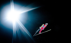 05.01.2016, Paul Ausserleitner Schanze, Bischofshofen, AUT, FIS Weltcup Ski Sprung, Vierschanzentournee, Qualifikation, im Bild Simon Ammann (SUI) // Simon Ammann of Switzerland during his Qualification Jump for the Four Hills Tournament of FIS Ski Jumping World Cup at the Paul Ausserleitner Schanze, Bischofshofen, Austria on 2016/01/05. EXPA Pictures © 2016, PhotoCredit: EXPA/ JFK
