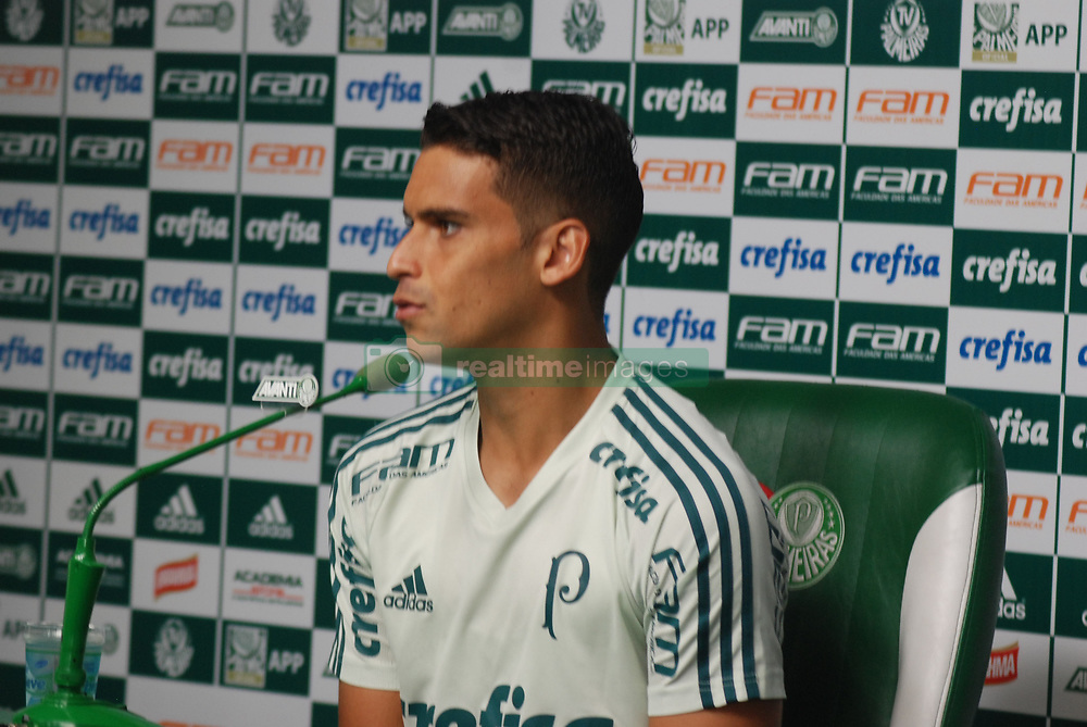 April 24, 2017 - Brazil - Sao Paulo Palmeiras training and press conference of the defender (Jean) at Palmeiras training ground before travelling to Uruguay for South American Liberator Championship. (Credit Image: © Adeleke Anthony Fote/Pacific Press via ZUMA Wire)