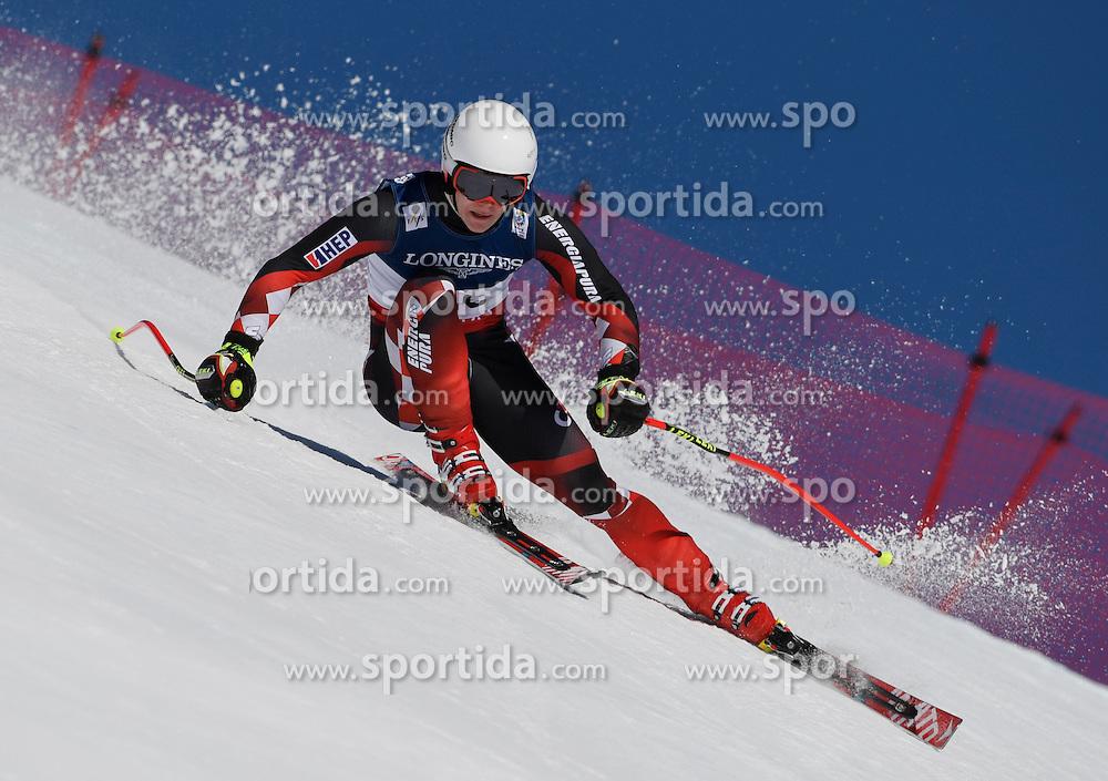 13.02.2017, St. Moritz, SUI, FIS Weltmeisterschaften Ski Alpin, St. Moritz 2017, alpine Kombination, Herren, Abfahrt, im Bild Filip Zubcic (CRO) // Filip Zubcic of Croatia in action during his run of downhill for the men's Alpine combination of the FIS Ski World Championships 2017. St. Moritz, Switzerland on 2017/02/13. EXPA Pictures &copy; 2017, PhotoCredit: EXPA/ Sammy Minkoff<br /> <br /> *****ATTENTION - OUT of GER*****