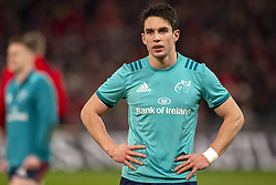 January 19, 2019 - Limerick, Ireland - Joey Carbery of Munster looks on during the Heineken Champions Cup match between Munster Rugby and Exeter Chiefs at Thomond Park in Limerick, Ireland on January 19, 2019  (Credit Image: © Andrew Surma/NurPhoto via ZUMA Press)