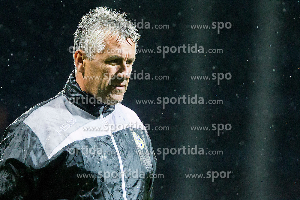 Nedzad Okcic, head coach of FC Luka Koper after football match between FC Luka Koper and NK Krsko in 11th Round of Prva liga Telekom Slovenije 2015/16, on September 23, 2015 in Bonifika, Koper, Slovenia. Photo by Urban Urbanc / Sportida