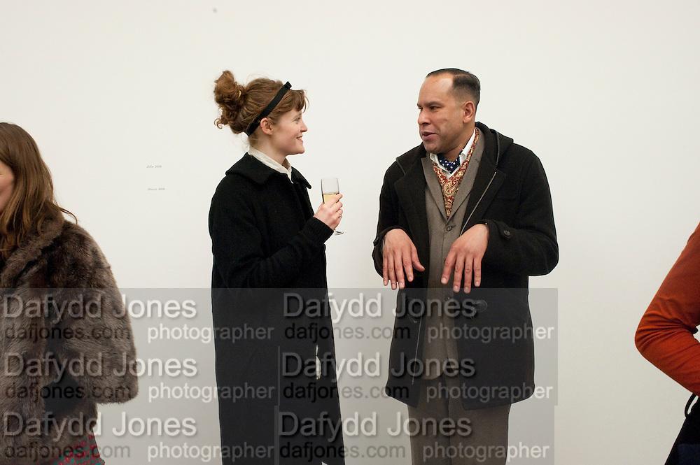 RICHARD DYER, Alex Katz opening. Timothy Taylor gallery. London. 3 March 2010.