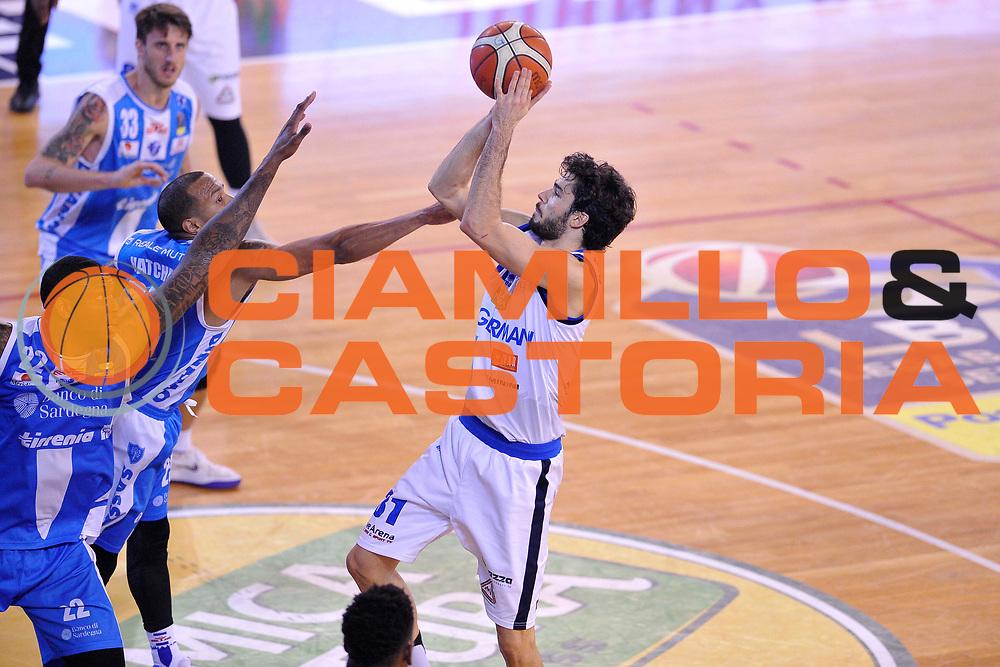 Michele Vitali<br /> Germani Leonessa Basket Brescia - Banco di Sardegna Dinamo Sassari<br /> LegaBasket Serie A 2017/2018<br /> Montichiari, 09/12/2017<br /> Foto M.Ceretti / Ciamillo-Castoria