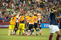 Joie Allemagne - 26.06.2015 - Allemagne / France - 1/4Finale Coupe du Monde 2015 -Montreal<br />Photo : Catherine Legault / Icon Sport