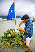 Paul Gauguin Cruises, Motu, Tahaa, French Polynesia