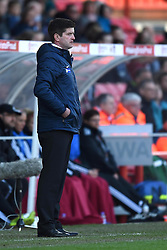 Bristol Academy manager, Dave Edmondson - Photo mandatory by-line: Paul Knight/JMP - Mobile: 07966 386802 - 21/03/2015 - SPORT - Football - Bristol - Ashton Gate Stadium - Bristol Academy v FFC Frankfurt - UEFA Women's Champions League