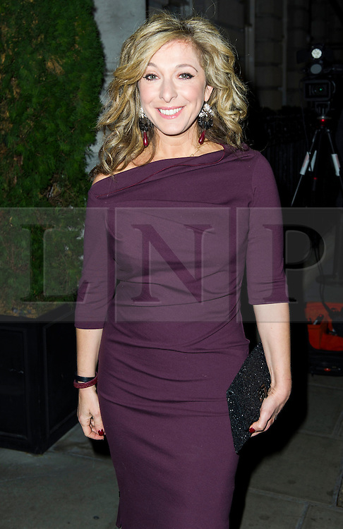 © Licensed to London News Pictures. 02/12/2013, UK. Tracy-Ann Oberman , Red's Hot Women Awards cocktail party, The London EDITION hotel, London UK, 02 December 2013. Photo credit : Raimondas Kazenas/Piqtured/LNP