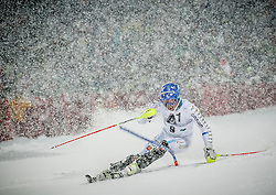 27.01.2015, Planai, Schladming, AUT, FIS Skiweltcup Alpin, Schladming, 1. Lauf, im Bild Andre Myhrer (SWE) // Andre Myhrer (SWE) during the first run of the men's slalom of Schladming FIS Ski Alpine World Cup at the Planai Course in Schladming, Austria on 2015/01/27, EXPA Pictures © 2015, PhotoCredit: EXPA/ Erwin Scheriau