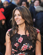 30.JANUARY.2011.  LONDON<br /> <br /> LIZ HURLEY ATTENDS THE UK PREMIERE OF NEW FILM GNOMEO AND JULIET AT THE ODEON CINEMA, LEICESTER SQUARE.<br /> <br /> BYLINE MUST READ: EDBIMAGEARCHIVE.COM<br /> <br /> *THIS IMAGE IS STRICTLY FOR UK NEWSPAPERS AND MAGAZINES ONLY*<br /> *FOR WORLDWIDE SALES AND WEB USE PLEASE CONTACT EDBIMAGEARCHIVE - 0208 954 5968*