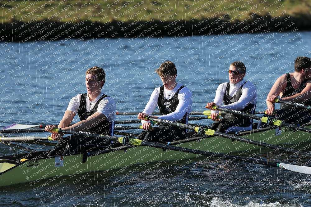 Reading University Boat Club. Championship Quad, BUCS Head 2012.