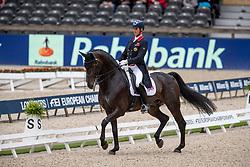 Hester Carl, GBR, Hawtins Delicato<br /> European Championship Dressage<br /> Rotterdam 2019<br /> © Hippo Foto - Stefan Lafrentz