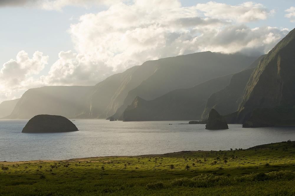 Molokai, Kalaupapa, Kalawao, Leinaopapio Point, Okala Island, Mokapu Island