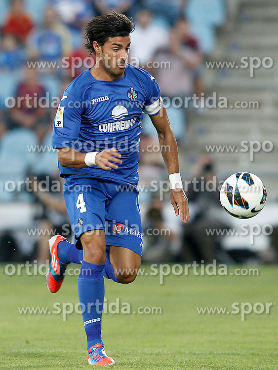 15.09.2012, Coliseum Alfonso Perez, Getafe, ESP, Primera Division, FC Getafe vs FC Barcelona, 04. Runde, im Bild Getafe's Miguel Torres // during the Spanish Primera Division 04th round match between Getafe CF and Barcelona FC at the Coliseum Alfonso Perez, Getafe, Spain on 2012/09/15. EXPA Pictures © 2012, PhotoCredit: EXPA/ Alterphotos/ Acero..***** ATTENTION - OUT OF ESP and SUI *****