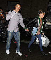 X Factor contestant Jahmene Douglas leaving a studio in south London, UK. 22/10/2012<br />BYLINE MUST READ : GOTCHAIMAGES.COM<br /><br />Copyright by © Gotcha Images Ltd. All rights reserved.<br />Usage of this image is conditional upon the acceptance <br />of Gotcha Images Ltd, terms and conditions available at<br />www.gotchaimages.com