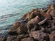 Rocky coast in Bonaire
