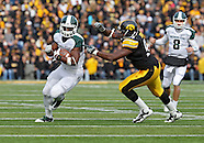 NCAA Football - Michigan State v Iowa - November 12, 2011