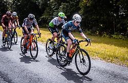 07.07.2019, Wels, AUT, Ö-Tour, Österreich Radrundfahrt, 1. Etappe, von Grieskirchen nach Freistadt (138,8 km), im Bild Daniel Lehner (Team Felbermayr Simplon Wels, AUT) // during 1st stage from Grieskirchen to Freistadt (138,8 km) of the 2019 Tour of Austria. Wels, Austria on 2019/07/07. EXPA Pictures © 2019, PhotoCredit: EXPA/ JFK