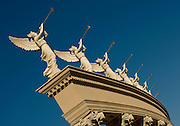 Column with Angels and Trumpets, Caesar's Palace, Las Vegas, Nevada