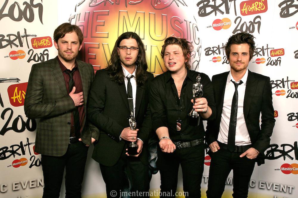 Kings of Leon - Backstage