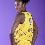 LOS ANGELES, CA, April 29, 2008:  Lisa Leslie of the LA Sparks.