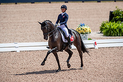 Wettstein Estelle, SUI, West Side Story<br /> World Equestrian Games - Tryon 2018<br /> © Hippo Foto - Dirk Caremans<br /> 13/09/18