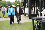 Mr. and Mrs. Anthony Oppenheim, Guy Leymarie and Tara Getty host The De Beers Cricket Match. The Lashings Team versus the Old English team. Wormsley. ONE TIME USE ONLY - DO NOT ARCHIVE  © Copyright Photograph by Dafydd Jones 66 Stockwell Park Rd. London SW9 0DA Tel 020 7733 0108 www.dafjones.com