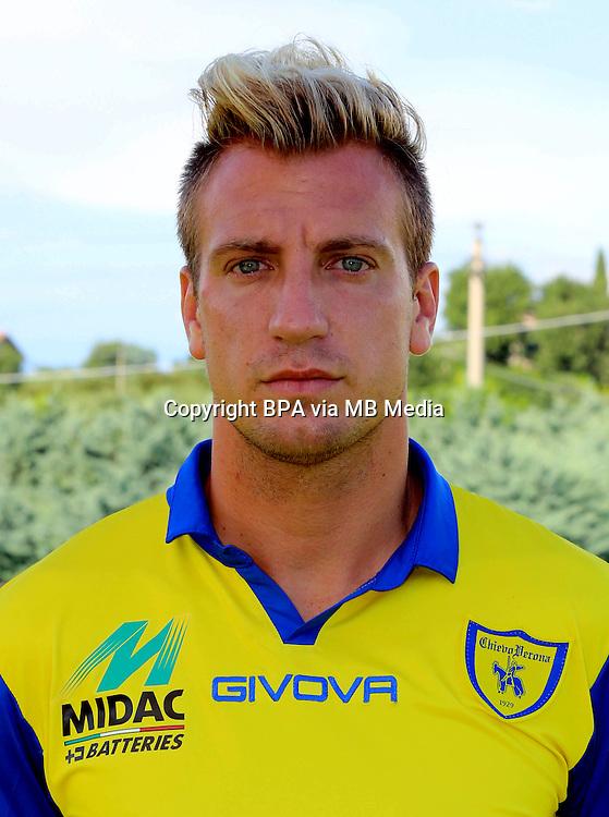 Italian League Serie A -2014-2015 / <br /> ( AC Chievo Verona  ) - <br /> Maximiliano Gaston Lopez &quot; Maxi Lopez &quot;