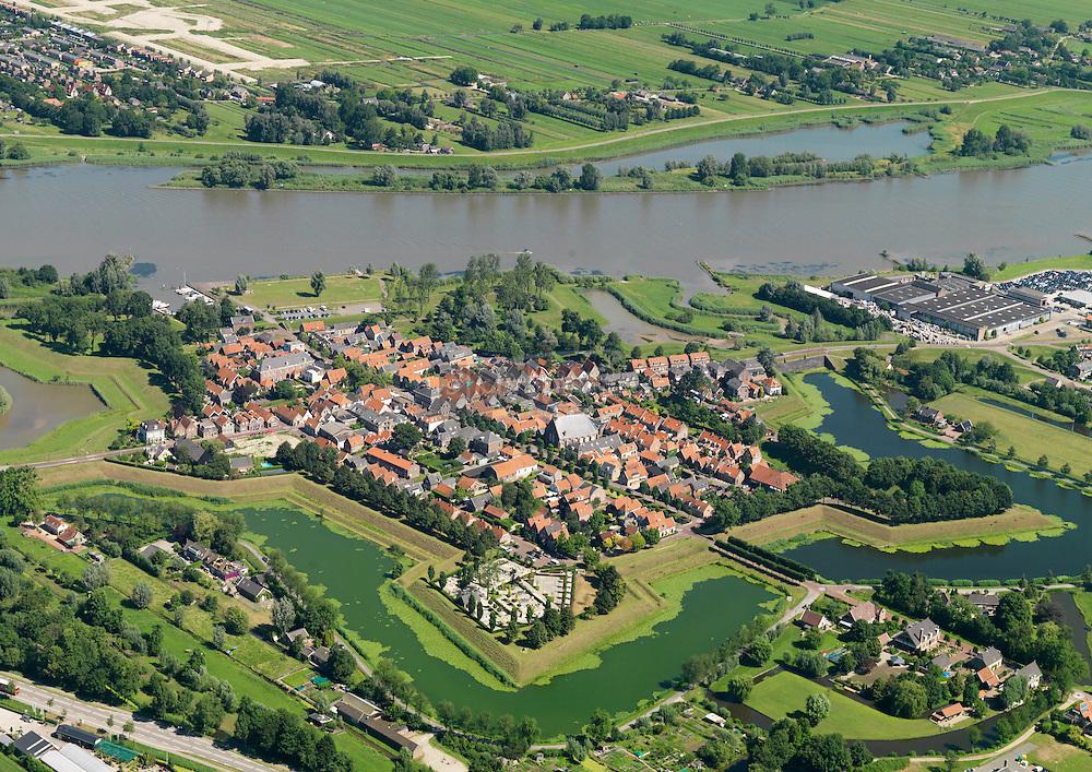 Vestingplaats Nieuwpoort aan de Lek