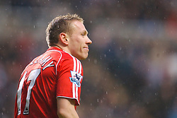 Newcastle, England - Saturday, February 10, 2007: Liverpool's Craig Bellamy in action against Newcastle United during the Premiership match at St James' Park. (Pic by David Rawcliffe/Propaganda)