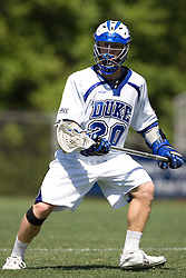 06 May 2007: Duke Blue Devils midfielder Brad Ross (10) during a 19-6 victory over the Air Force Falcons at Koskinen Stadium in Durham, NC.