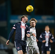 Ross County's Jason Naismith and Dundee&rsquo;s Craig Wighton - Ross County v Dundee in the Ladbrokes Scottish Premiership at The Global Energy Stadium, Dingwall, Photo: David Young<br /> <br />  - &copy; David Young - www.davidyoungphoto.co.uk - email: davidyoungphoto@gmail.com