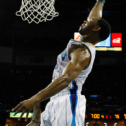 March 30, 2011; New Orleans, LA, USA; New Orleans Hornets shooting guard Willie Green (33) dunks against the Portland Trail Blazers during a game at the New Orleans Arena. The Hornets defeated the Trail Blazers 95-91.   Mandatory Credit: Derick E. Hingle