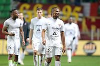 DECEPTION METZ / Florent MALOUDA    - 07.03.2015 -  Rennes / Metz -  28eme journee de Ligue 1 <br />Photo : Vincent Michel / Icon Sport<br /><br />  *** Local Caption ***