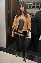 LISA BILTON at a reception hosted by Vogue and Burberry to celebrate the launch of Fashions Night Out - held at Burberry, 21-23 Bond Street, London on 10th September 2009.