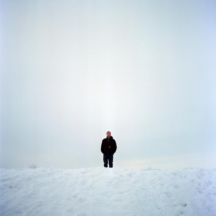 ANCHORAGE, ALASKA - 2008: Musician Matthew Dean Herman.
