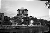 1961 - View of Four Courts, Inns Quay, Dublin