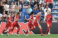 Ada Hegerberg Olympique Lyonnais Celebration Goal. Esultanza Gol<br /> Reggio Emilia 26-05-2016 <br /> Wolfsburg - Lyon <br /> Women's Champions League Final . Foto Andrea Staccioli / Insidefoto