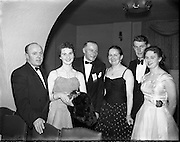 Roscommon Men's Association Dinner Dance at The Gresham .10/12/1958 .